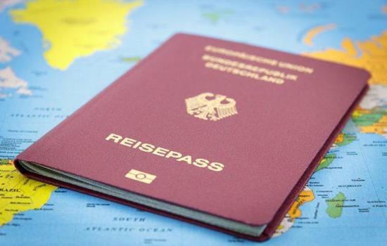 Deutschland Reisepass