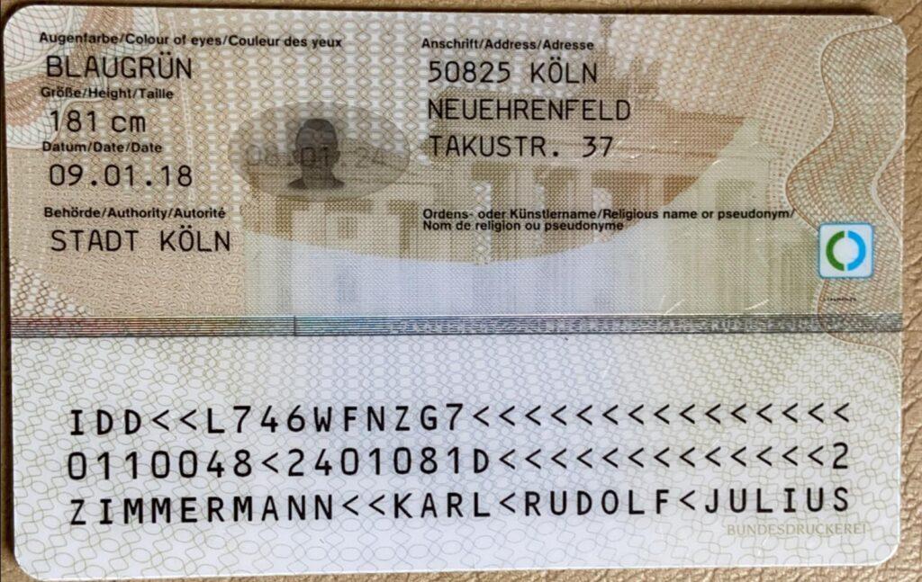 Deutscher Ausweis
